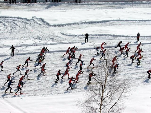 Start zjazdu zimowego bacy